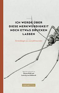 Florian Weiß & Lucia Jay von Seldeneck: Ich werde über diese Merkwürdigkeit noch etwas drucken lassen